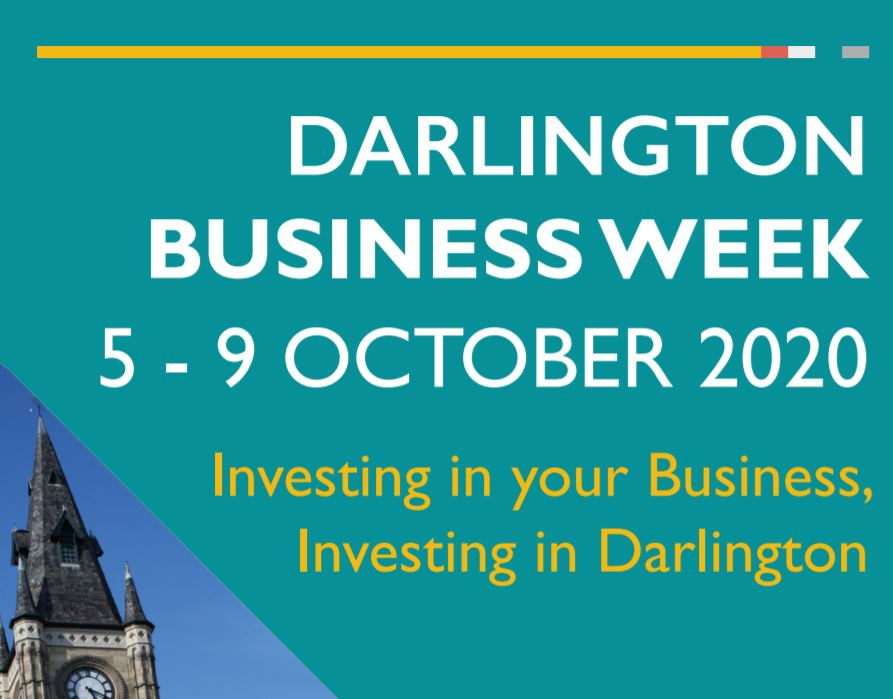 Bookings for #Darlington's first ever virtual Business Week