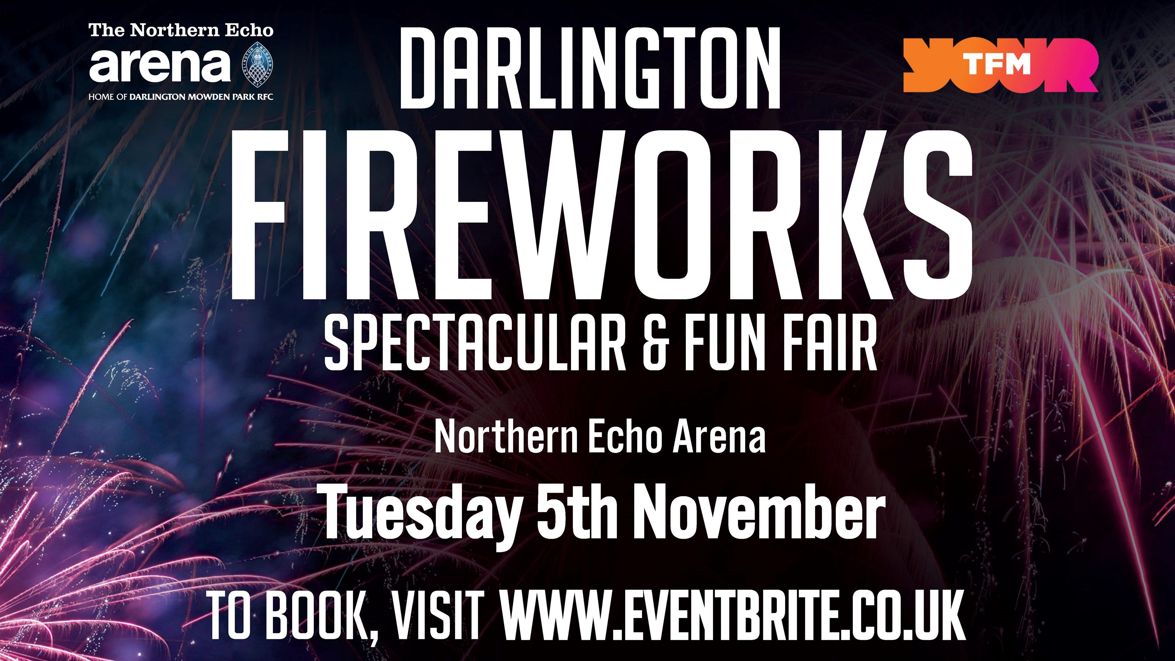 "The Darlington Arena ""Fireworks Spectacular"" returns for its 3rd Year, bigger and better than ever!"